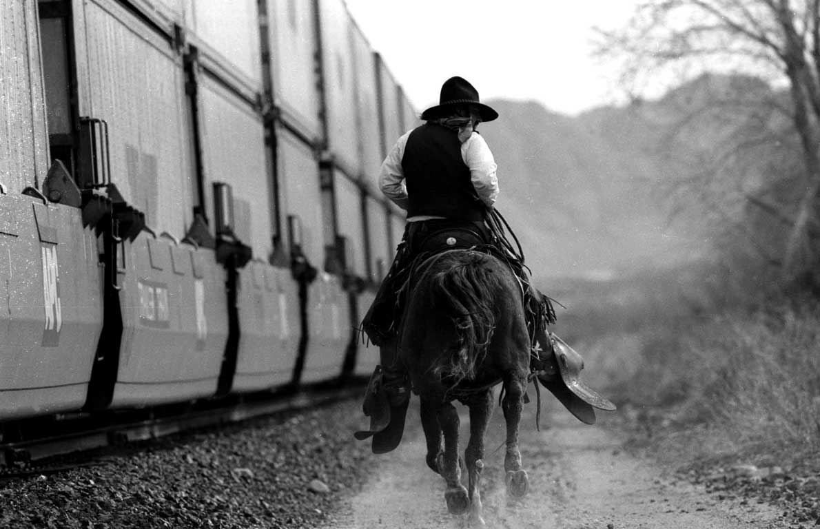 Cowboy Freight Train, Amado-James O'Mara Photography