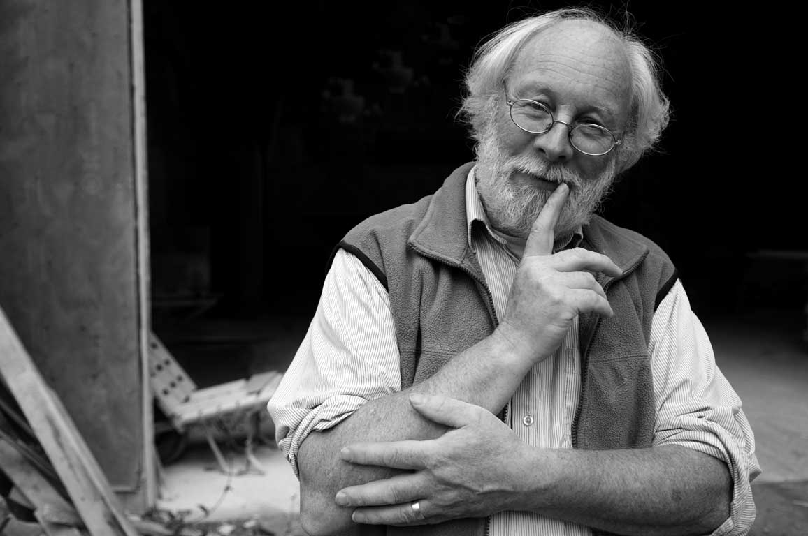 Stone Sculptor, Mission Hill-Portrait