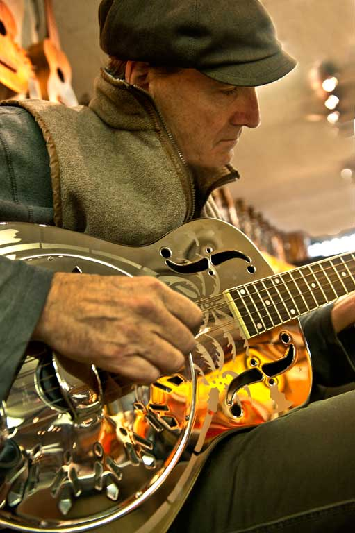 James Taylor, Matt Umanov Guitar Store-James O'Mara