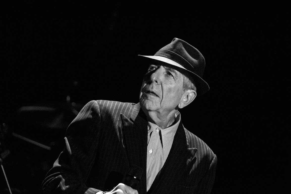 Leonard Cohen, Olympia Paris-James O'Mara