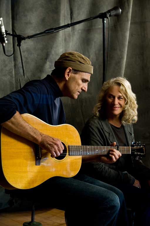 Troubadour Reunion, James Taylor and Carol King-James O'Mara Photography