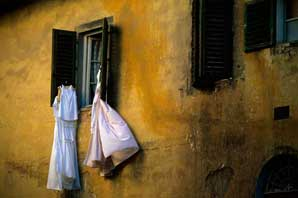 Laundry on the window-James O'Mara