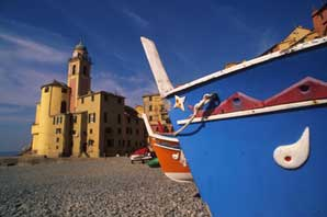 Camogli Church-Liguria-James O'Mara