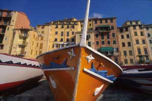 Camogli Fish Boat-Liguria-James O'Mara