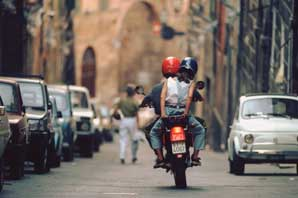 Scooter Couple, Siena-James O'Mara