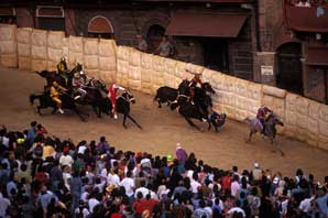 Palio Race, Siena-James O'Mara